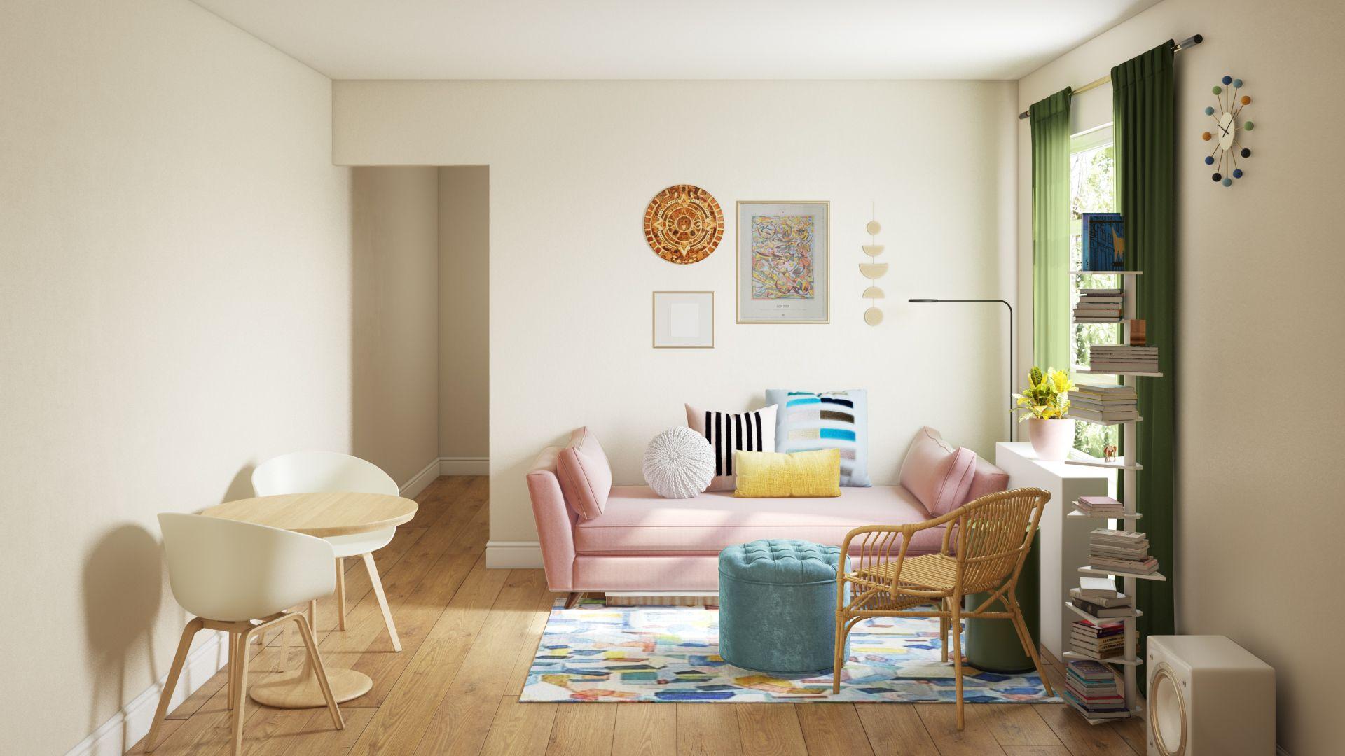 Eclectic, Bohemian, Global, Midcentury Modern, Scandinavian Living ...