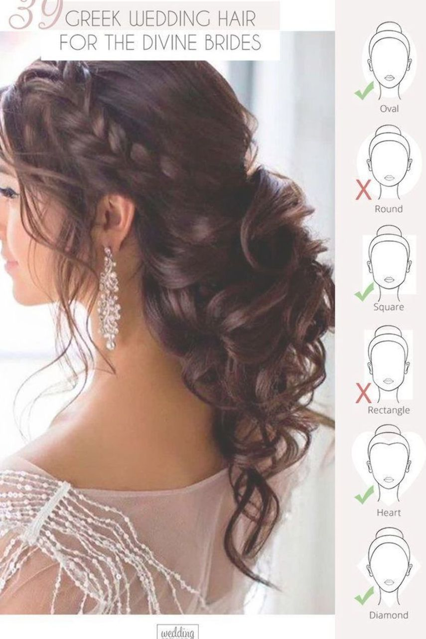 39 Greek Wedding Hairstyles For The Divine Brides Goddess Greek Bridal Looks Are Perfectly Fi Greek Goddess Hairstyles Goddess Hairstyles Grecian Hairstyles