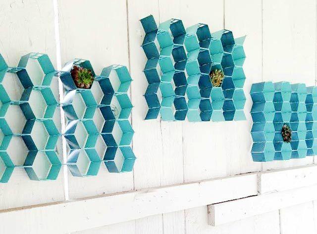 Honeycomb Garden Wall Art
