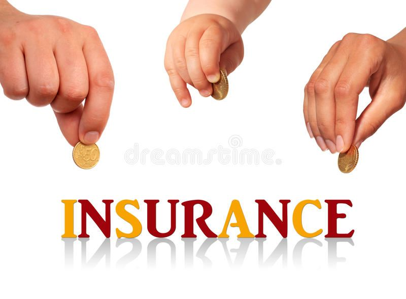 Family Insurance Family Insurance Concept Isolated Over White