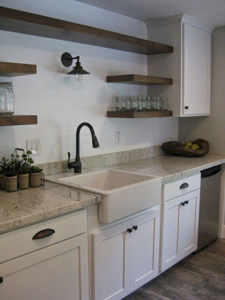 50+ Awesome Farmhouse Kitchen Ideas | Kitchens without ...