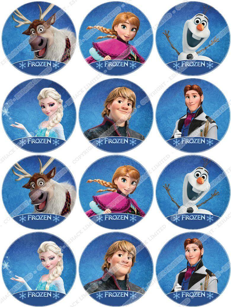 Disney Frozen Edible Cake Toppers httpwwwparentidealcouk