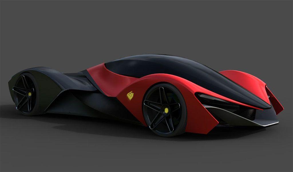 Ferrari Ineo Concept Concept Cars Ferrari F80 Concept Car Design