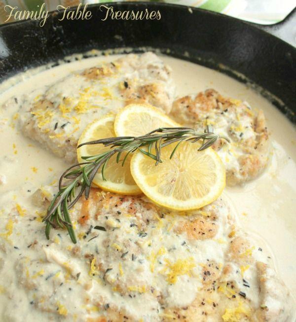 Chicken Scallopini With Lemon Recipe Chicken Scallopini Recipes Food