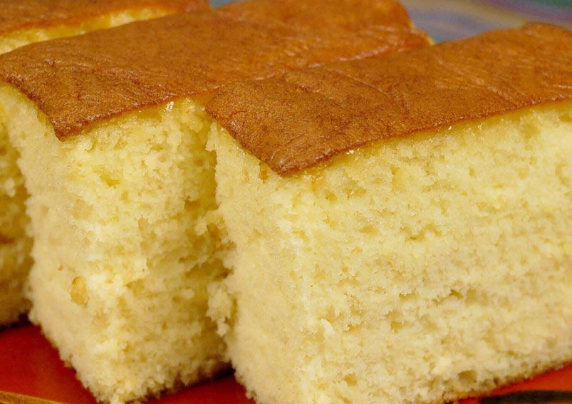 Cake recipes with plain flour and no eggs