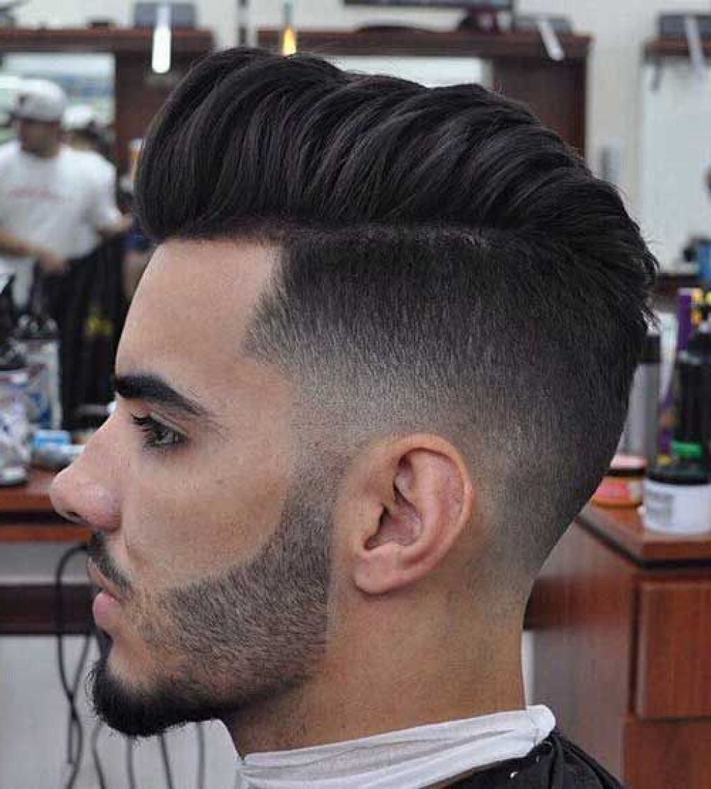 Coiffure Homme Dégradé Progressif Side View Hairstyle 3 Hair In 2019 Hair Cuts Fade