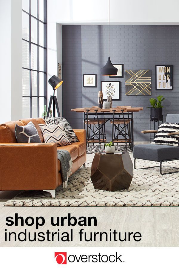 urban industrial furniture. Find Everything You Need To Give Your Living Room An Urban Industrial Decor Refresh At Overstock.com. Shop Thousands Of Products And Beautiful New Furniture D