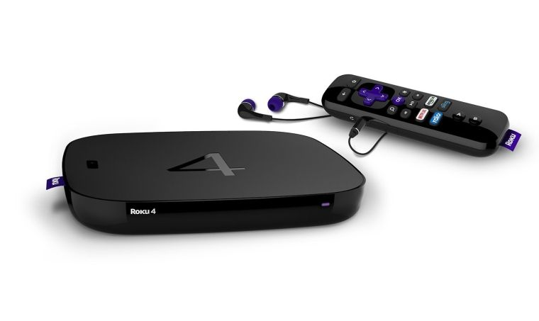 Roku 4 Streaming Media Player 4K UHD Streaming media, Roku