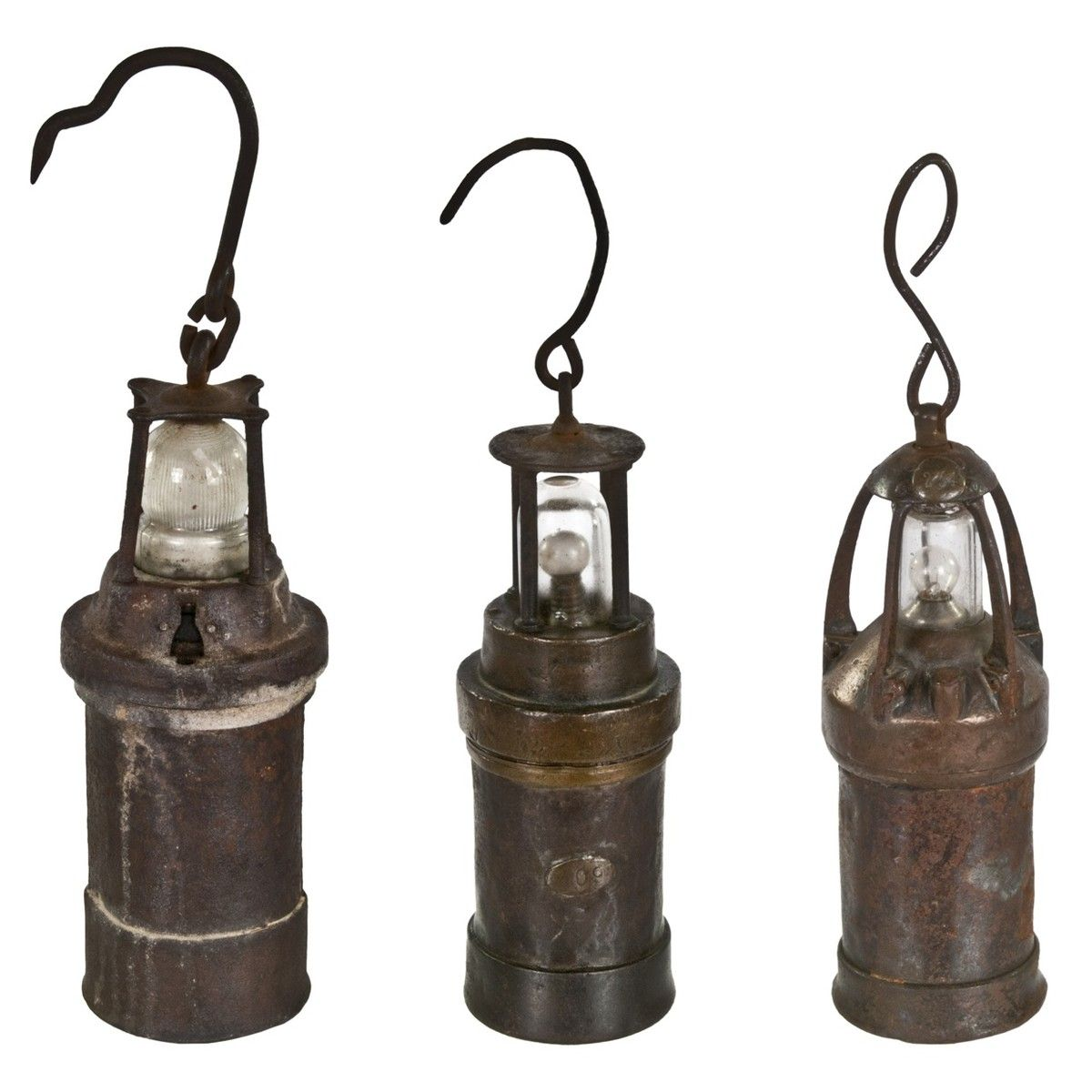 Vintage French Mining Lanterns French Antiques Lanterns Antiques