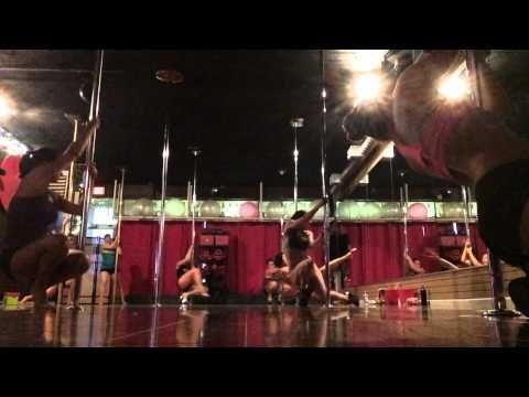 Climb & Spin at PoleFit Revolution - YouTube