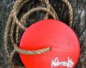 """Round Tree Swing - """"Nebraska Red"""""""