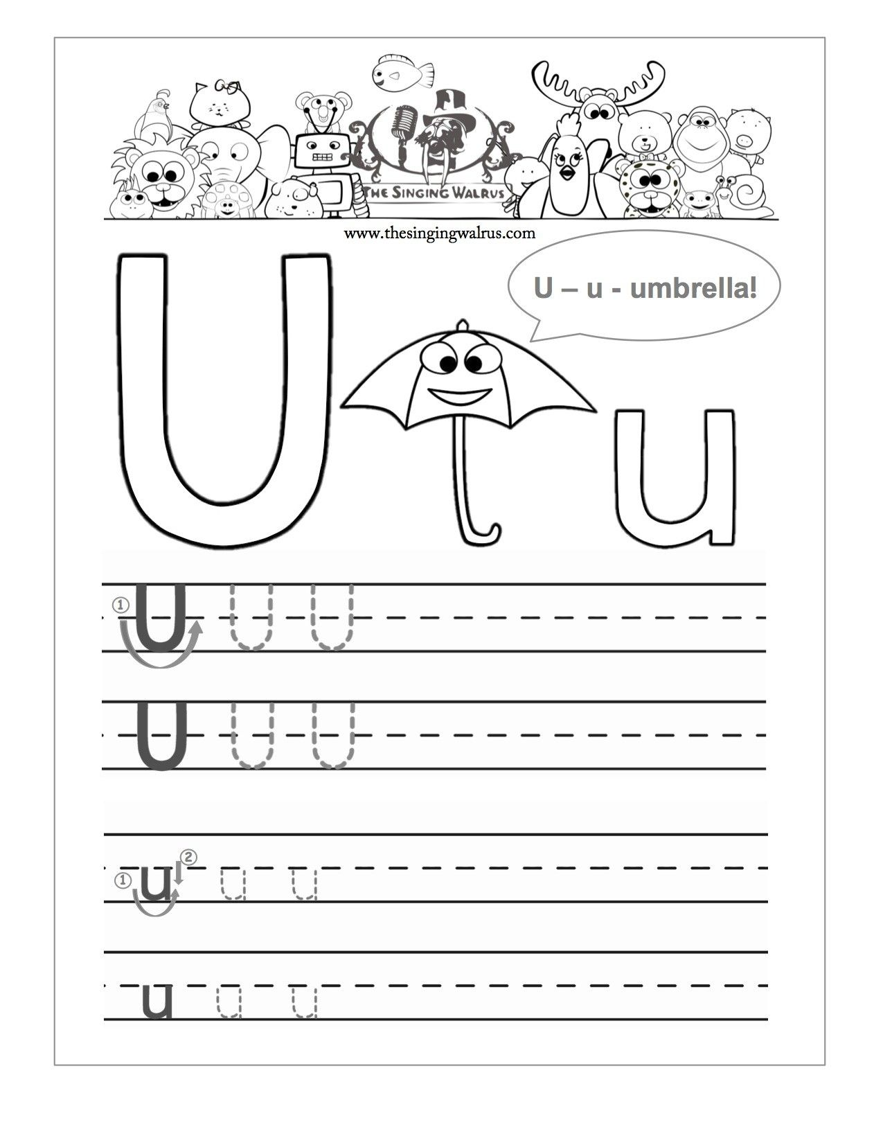 Pin By Loveablechins Com On School Alphabet Practice Worksheets Free Handwriting Worksheets Alphabet Practice - Download Free Letter U Worksheets For Kindergarten Pictures