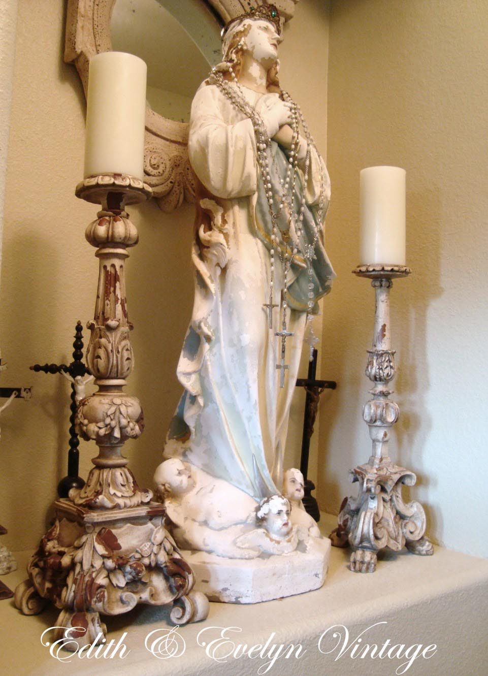 Home altar ideas on pinterest altars catholic and mother mary - Home altar designs ...