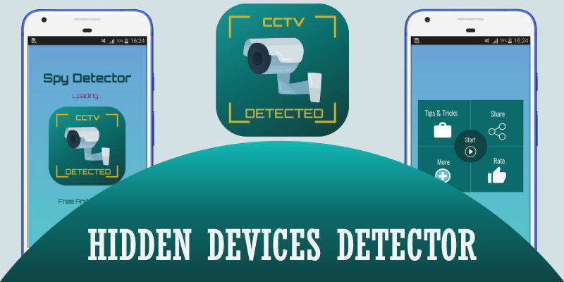 Hidden Camera Detector helps you to detect hidden camera