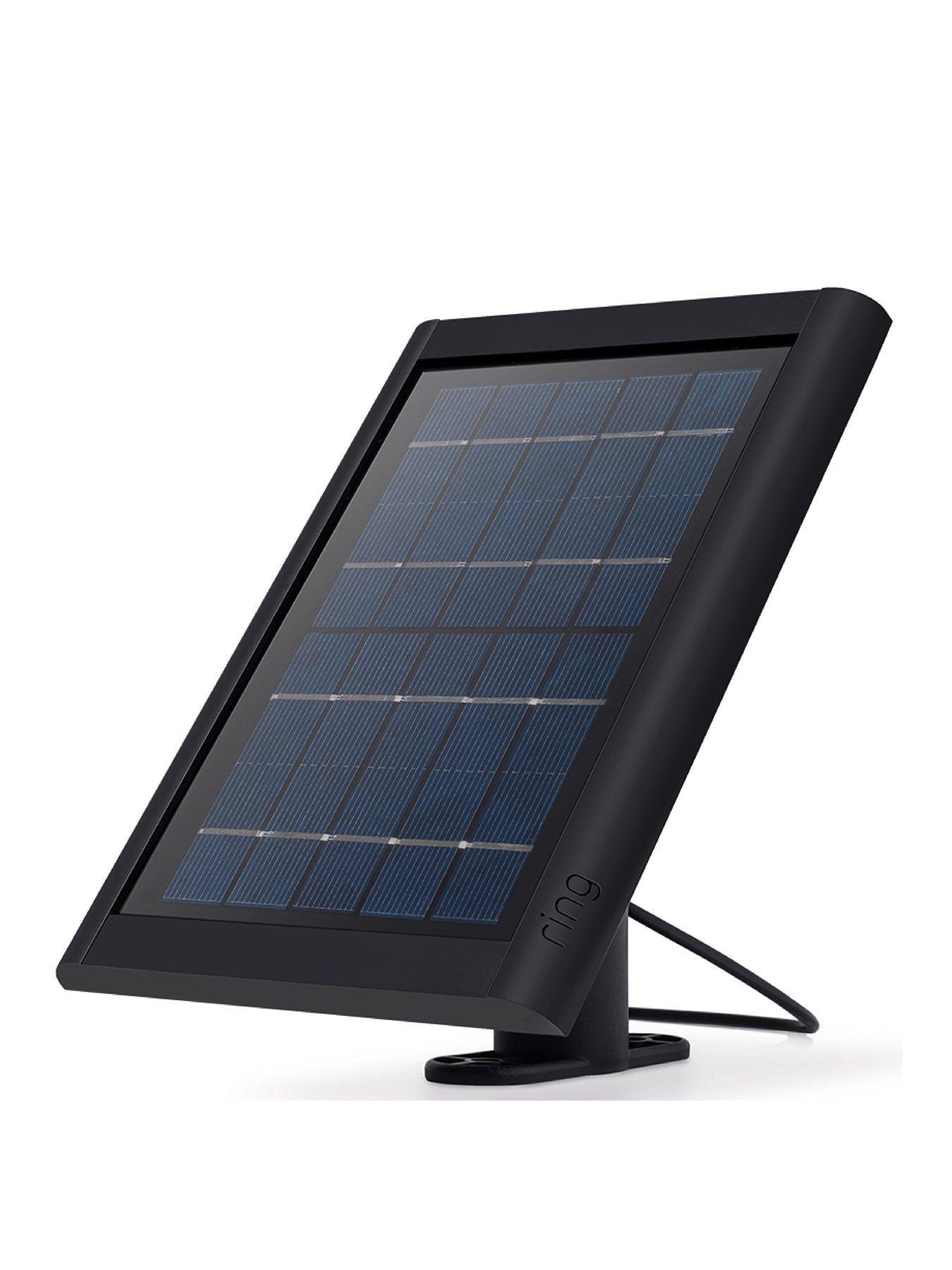 Ring Solar Panel For Spotlight Cam Battery Black Solar Panels Solar Panels For Home Solar