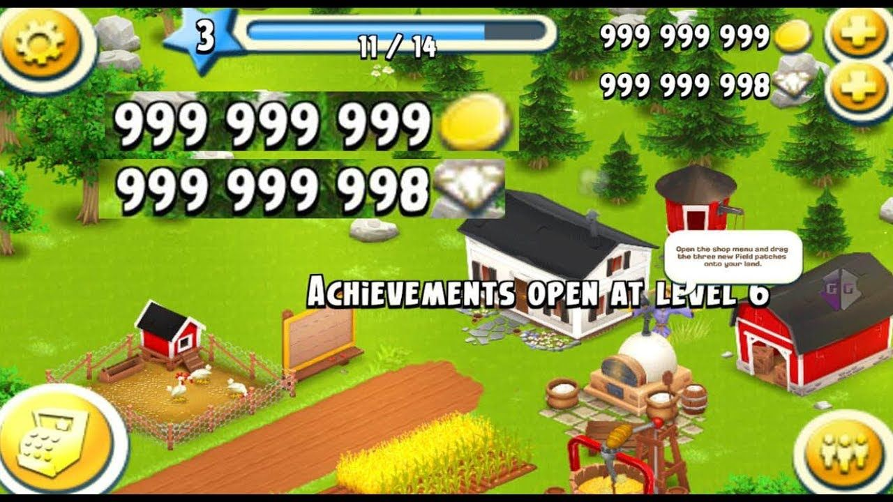 How to get unlimited Diamonds and Coins! (Hay Day Choose