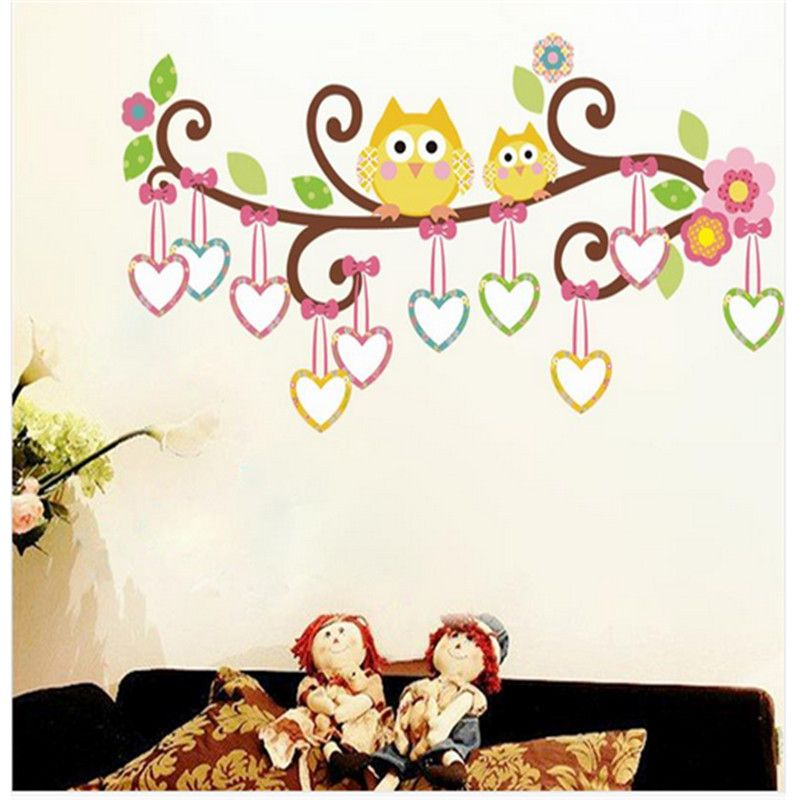 Cheap b hos pegatinas de pared decoraci n de la habitaci n for Pegatinas pared ninos
