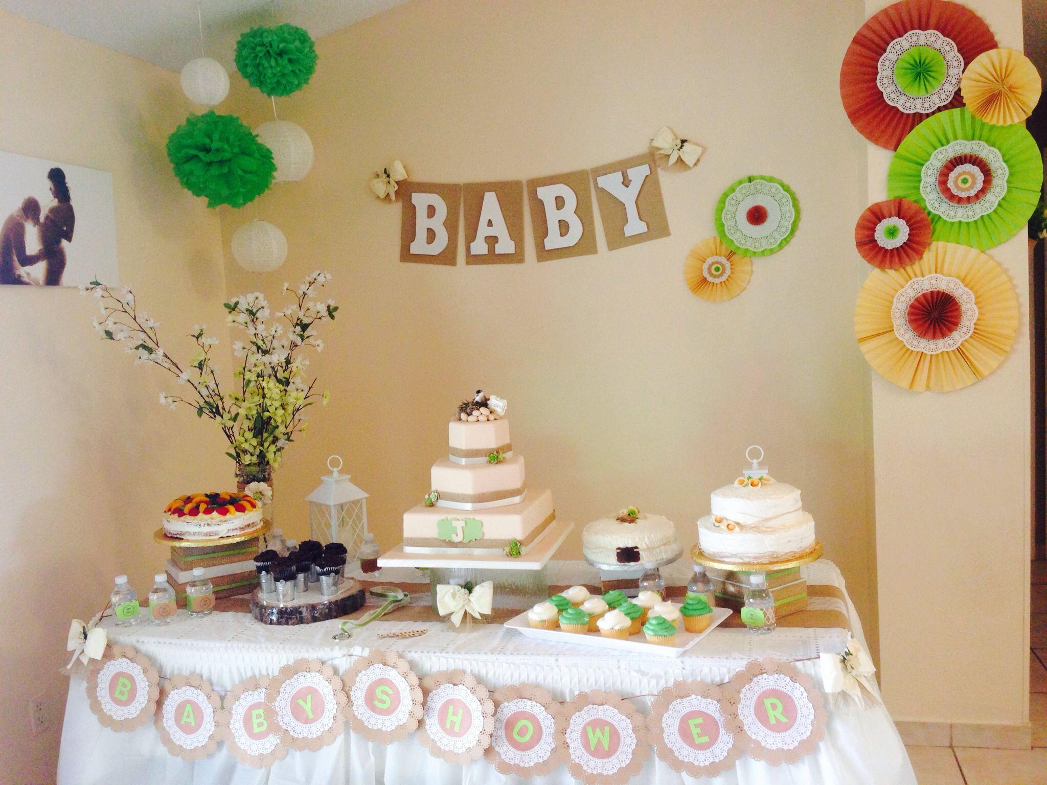 Wonderful Cake Table