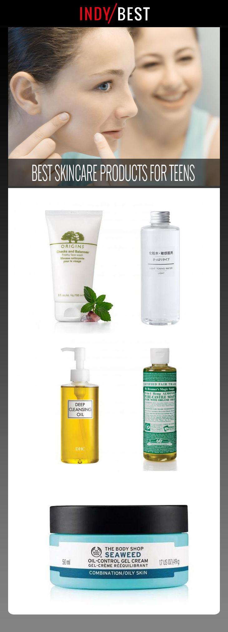 13 best skincare products for teens to reduce excess oil