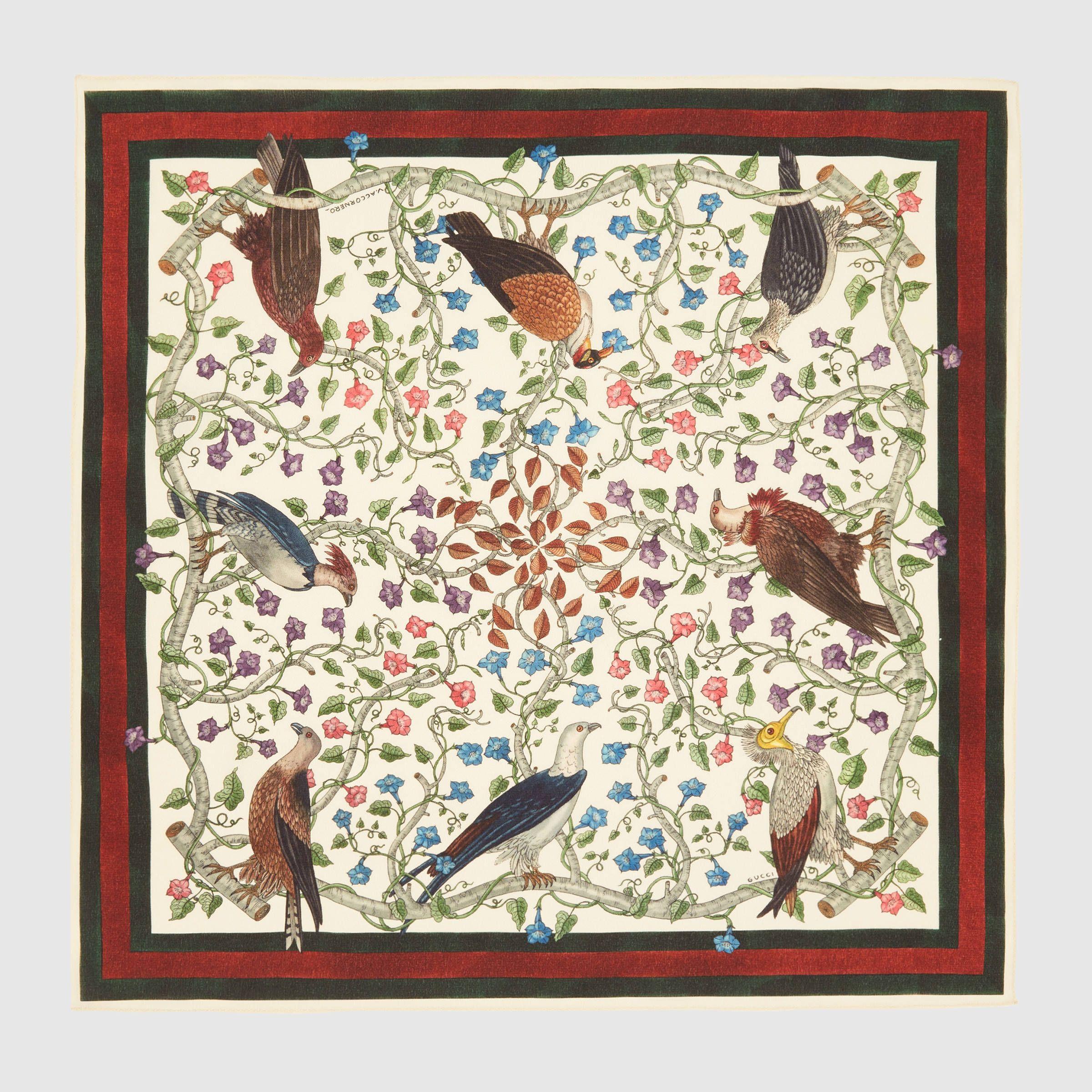 Rapaci print silk pocket square   Pinterest   Carré de soie, Rapaces ... 16f6f1e7226