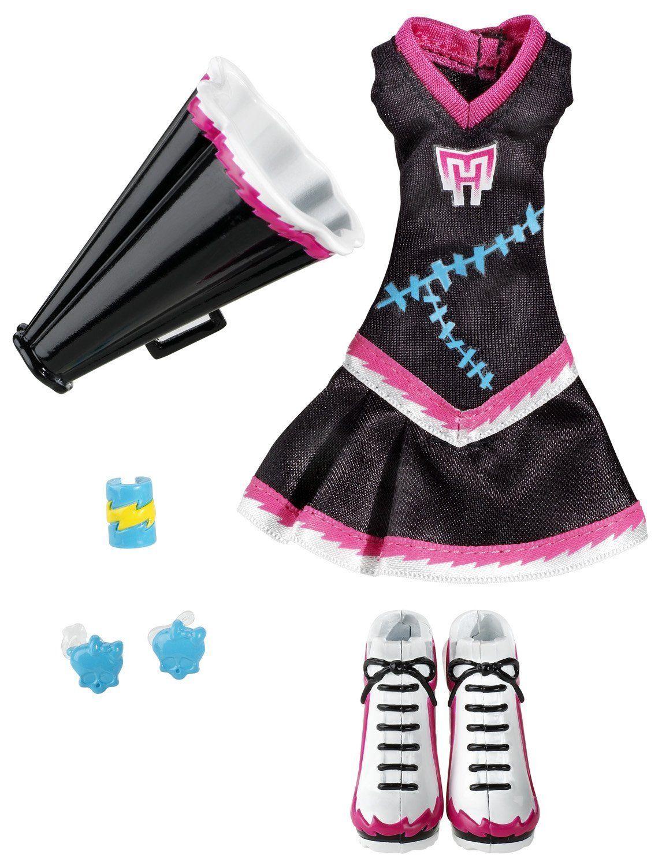 Monster High School Spirit Scream Uniforms
