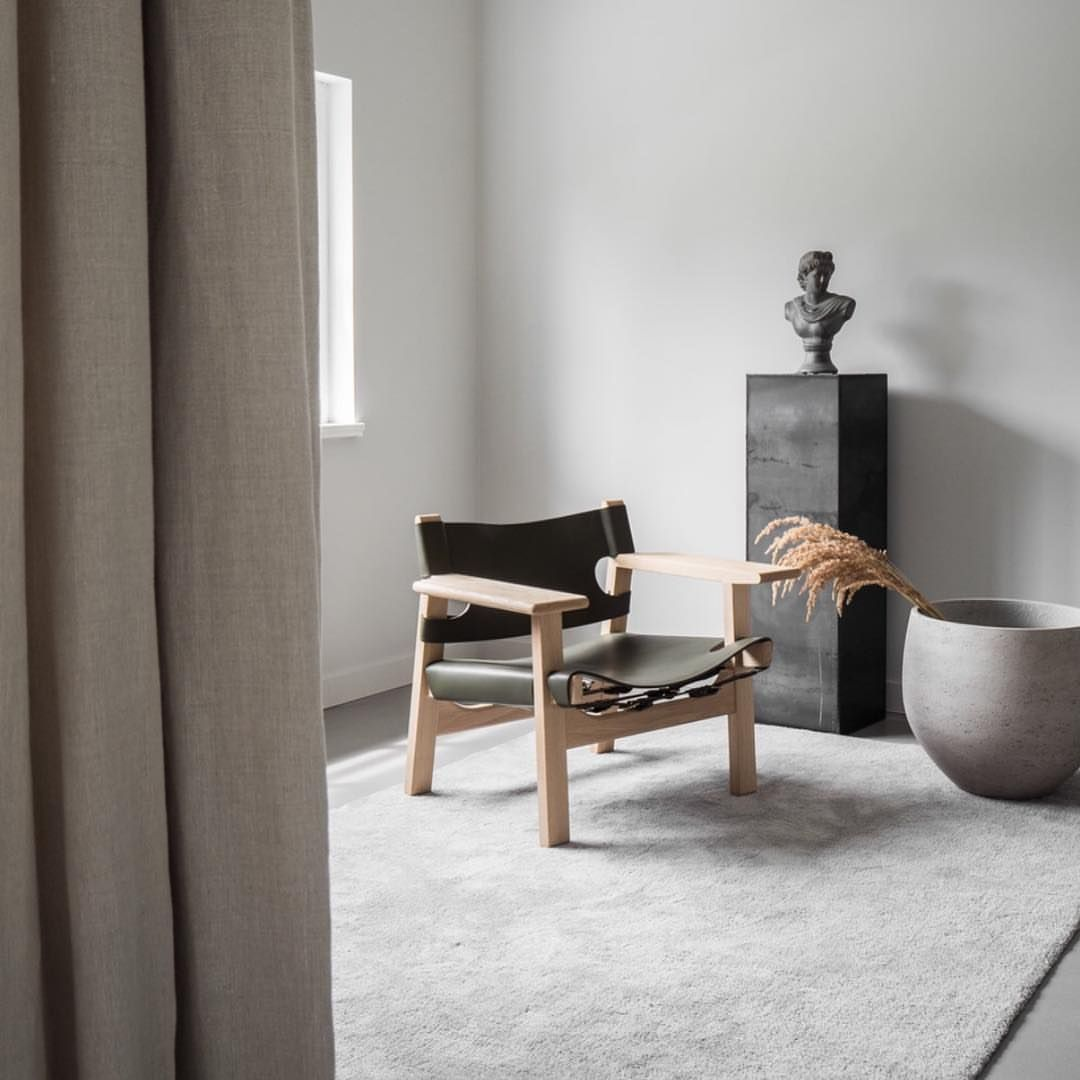 Fredericia – Spanish Chair by Børge Mogensen via @genmaze