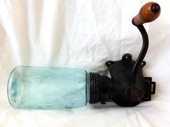1860 Antique Coffee Grinder