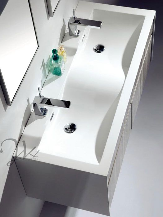 Integrated Sink Bathroom Vanities Inspired By Design Double