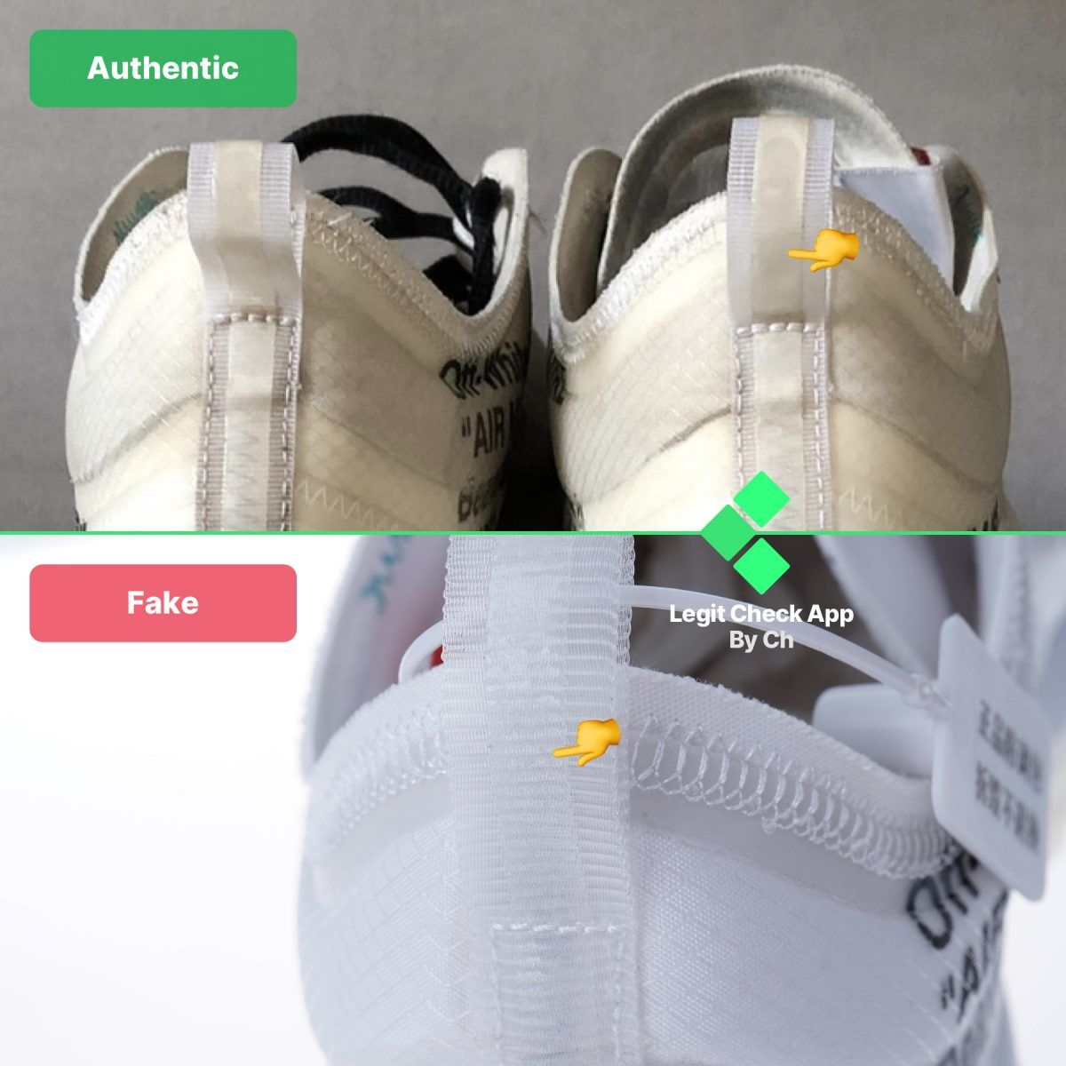 OffWhite Air Max 97 OG AJ4585100 Real Vs Fake Guide in