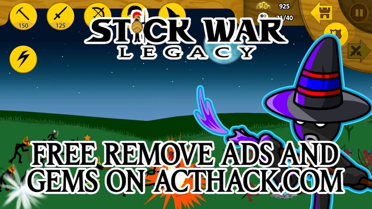 Stick War Legacy Hack Updates March 14, 2020 at 0200PM