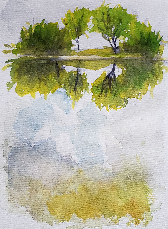 Comment Peindre L Eau En 2020 Comment Peindre