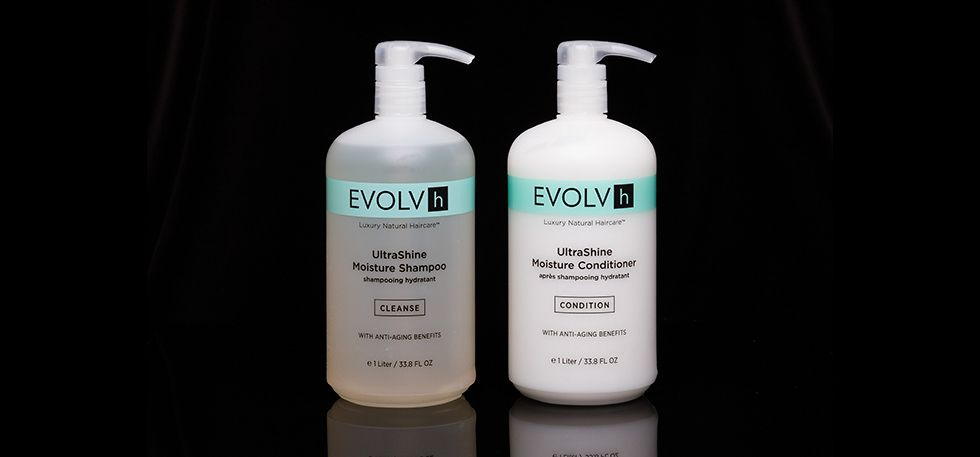 EVOLVh hair products - no animal testing.