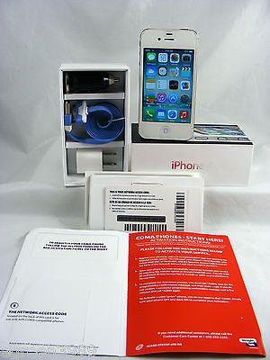 Apple iPhone 4-8GB-White(Verizon/PrePaid/Straight Talk Network)W/BOX&Accessories | eBay
