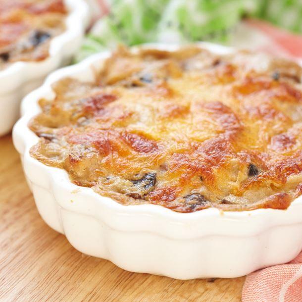 Quiche Sans Pâte Aux Champignons, Poireau Et Comté