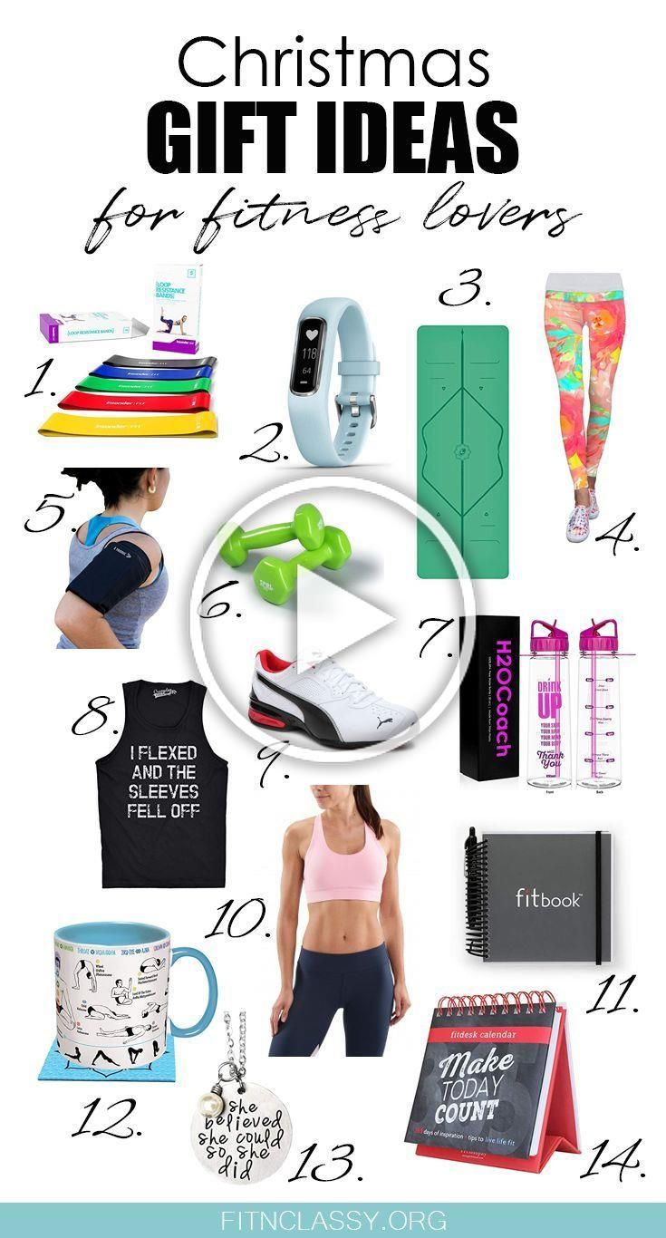 14 Cool Christmas Gifts For Fitness Lovers #christmas #giftideas #fitness #christmasgifts #presents...