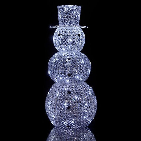 John Lewis Large Outdoor Acrylic Snowman Light & John Lewis Large Outdoor Acrylic Snowman Light | DECOR | Pinterest ...