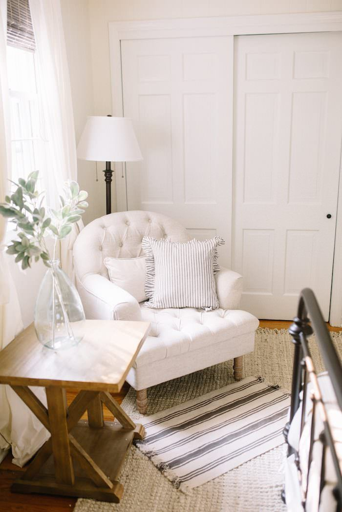 Farmhouse Guest Bedroom Ideas Our Features A Bright Neutral Room With