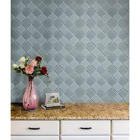 Bestview Grey Lantern Mosaic Gl Wall Tile Common 9 In X 12