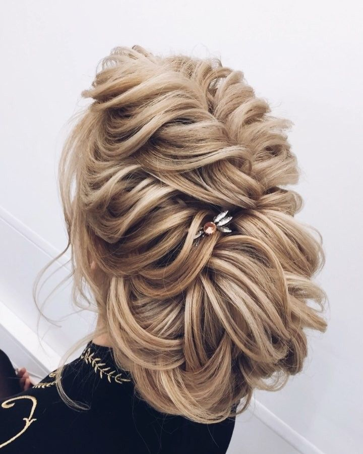 Updo Hairstyle Gorgeous Feminine Wedding Hairstyles For Long Hair  Bridal Updo