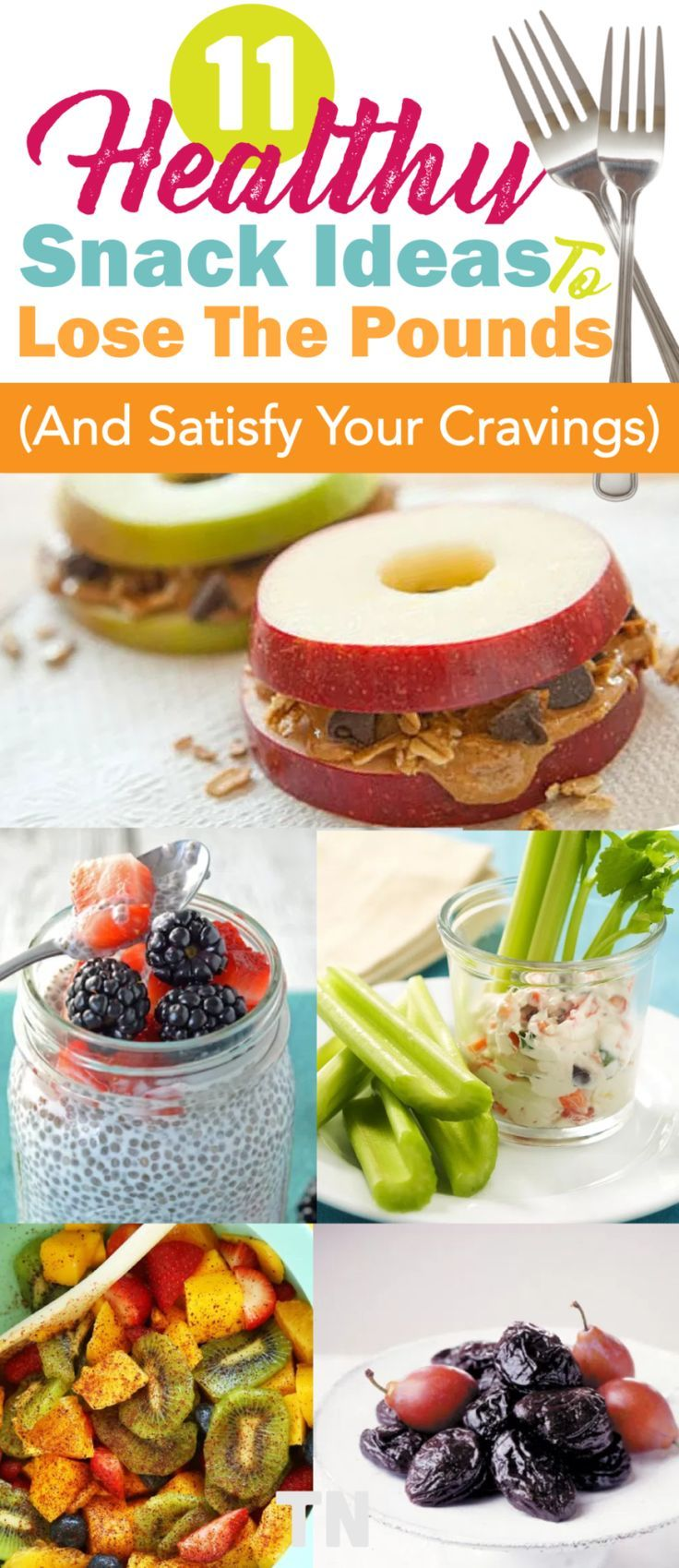 What healthy snacks to eat to lose weight