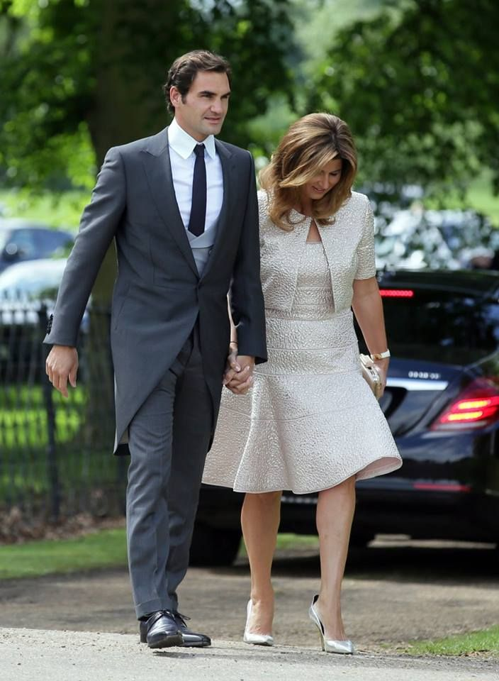 Roger Federer And His Wife Mirka Attend Pippa Middleton S Wedding Pippa Middleton Wedding Pippa Middleton Roger Federer