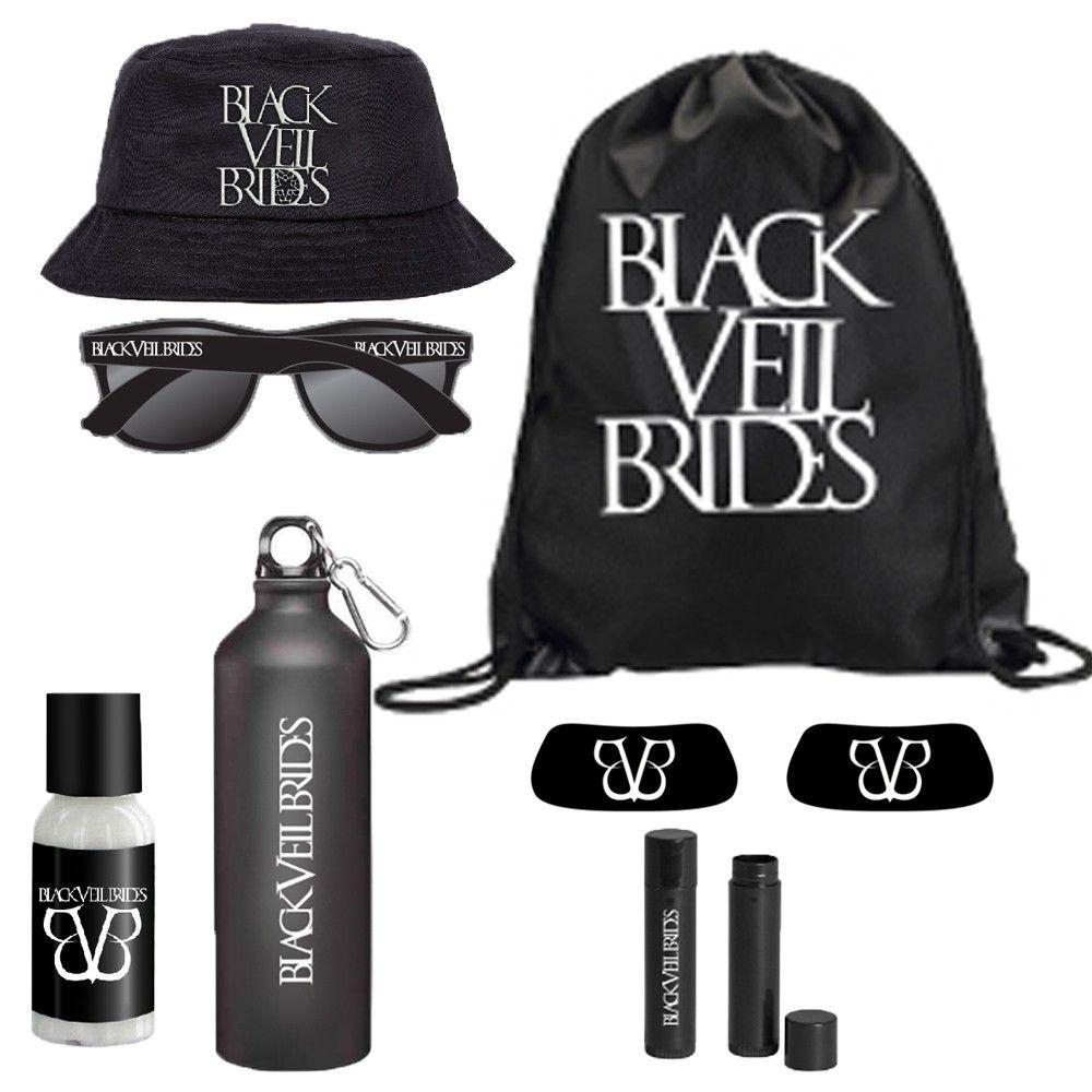 2015 Warped Tour Survival Kit Warped Tourblack Veil Bridesband