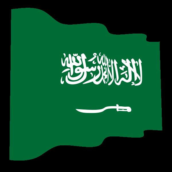 Waving Flag Of Saudi Arabia Saudi Arabia Flag Saudi Arabia Flag