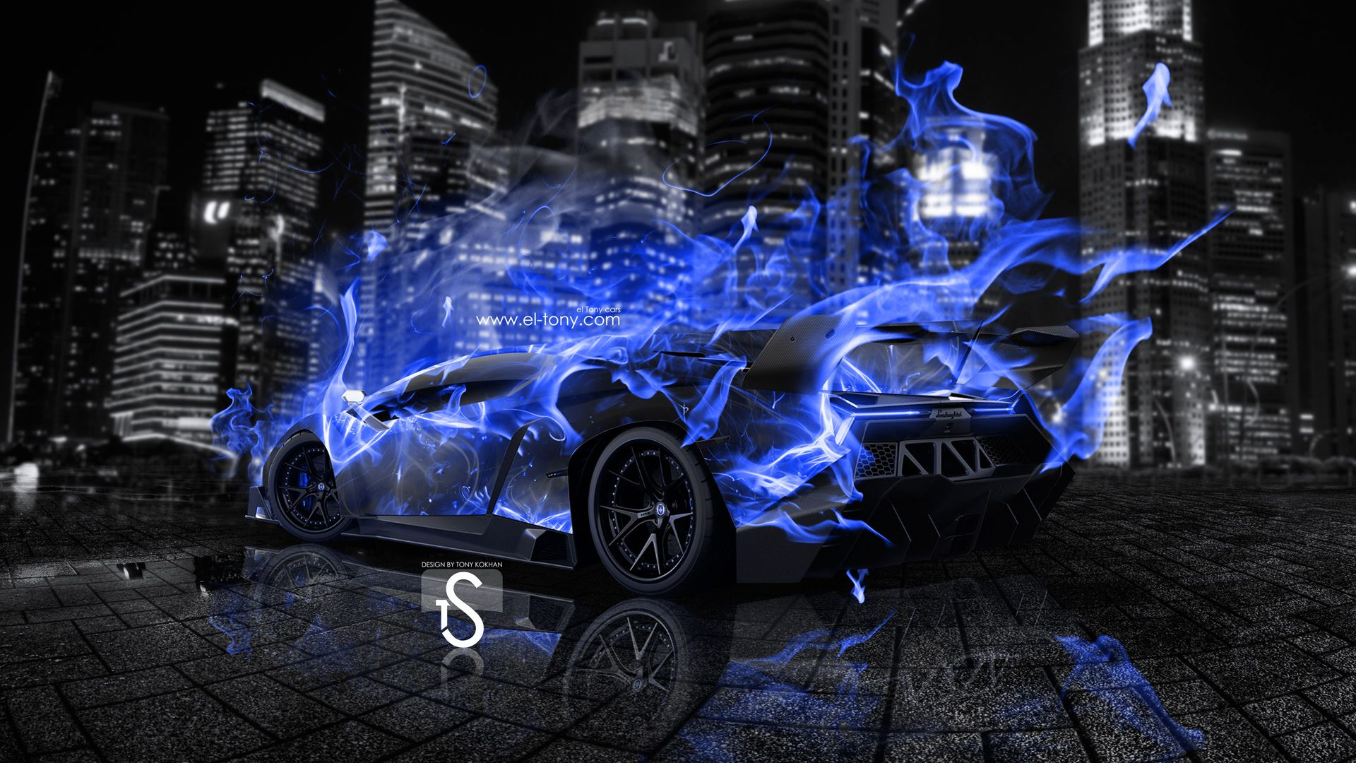 Blue Lamborghini Wallpaper Mobile