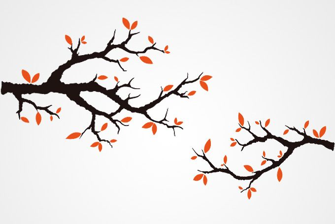branch outline autumn tree branches vector free free vector rh pinterest com