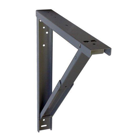 support pour table rabattable l 7 x cm trailer tents project table desk et diy table. Black Bedroom Furniture Sets. Home Design Ideas