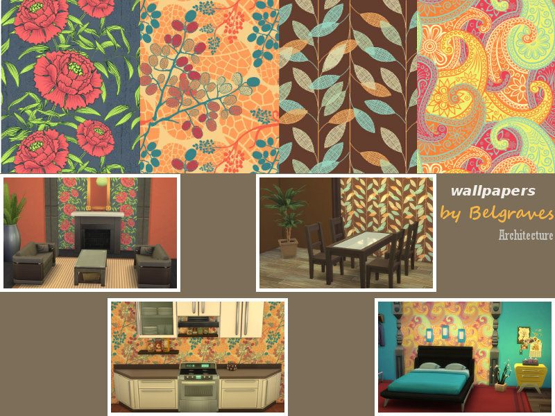 Leander Belgraves Colourful Wallpapers