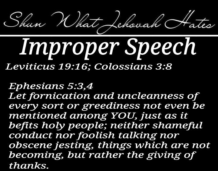 """We are not really Christian unless we walk in the footsteps of the Master, Christ. Can you imagine inviting him over and swearing in front of him? Jesus was """"holy"""" (pure, without sin) and we must try to be holy too."""
