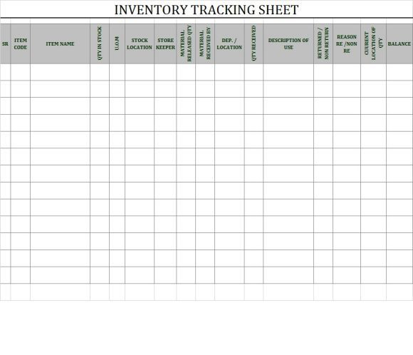 Inventory Tracking Spreadsheet Template Download Inventory Sheet - Restaurant Inventory Spreadsheet Template