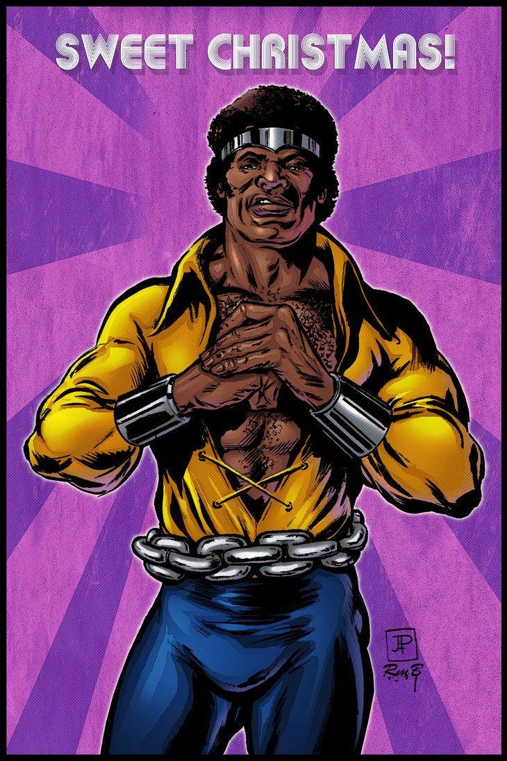 luke cage sweet christmas by richmbailey
